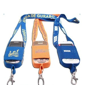 Lanyard With Mobile Holders