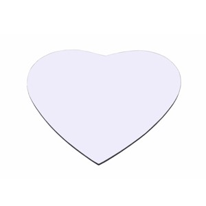 Sublimated Heart Shaped Mouse Pads
